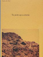 To pick up a stone (9789492051554)