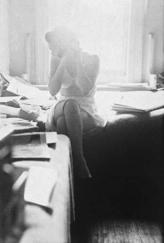 Barbara, c. 1954 © Saul Leiter
