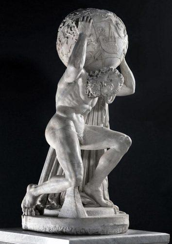 泰坦巨人雕像 Farnese Atlas © Alamy