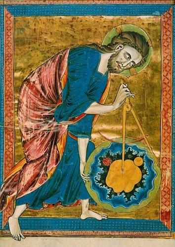 《Codex Vindobonensis 2554》的卷頭插畫 © österreichische Nationalbibliothek, Vienna