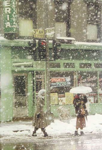 Untitled, 1952 © Saul Leiter